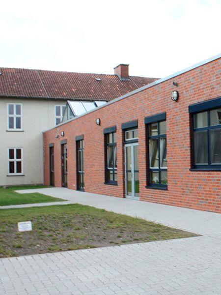 Motiv: Erweiterungsneubau der Grundschule
